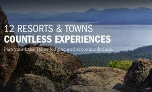Tahoe Lodging - Big Blue Adventure